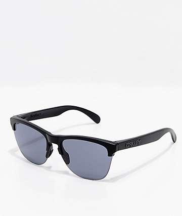 Oakley Frogskins gafas de sol ligeras en negro mate