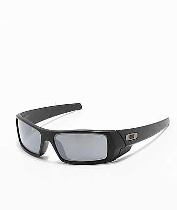 Oakley Gascan Matte Black & Prizm Mirror Sunglasses