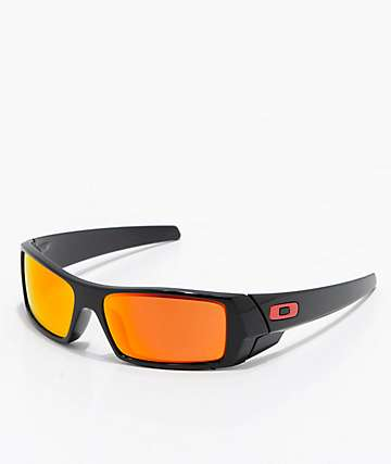 Oakley Gascan Polished Black & PRIZM Ruby Sunglasses
