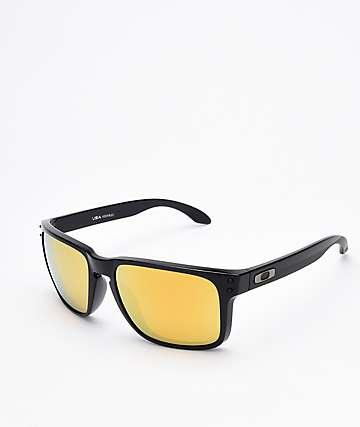 Oakley Holbrook XL 24K gafas de sol polarizadas en negro