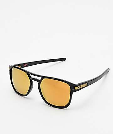 df49a6c0f6 Oakley Latch Beta 24k Black Prizm Polarized Sunglasses