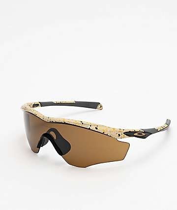 Oakley M2 XL Sand Splatter Tungsten Prizm Sunglasses