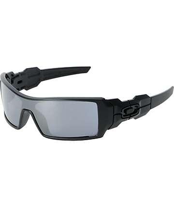 Oakley Oil Rig gafas de sol en negro mate y negro iridio