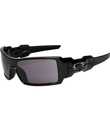 Oakley Oil Rig gafas de sol en negro pulido
