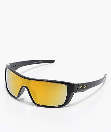 Oakley Straightback 24k Iridium gafas de sol en negro