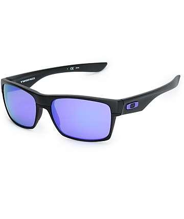 Oakley TwoFace gafas de sol en negro mate y violeta iridio