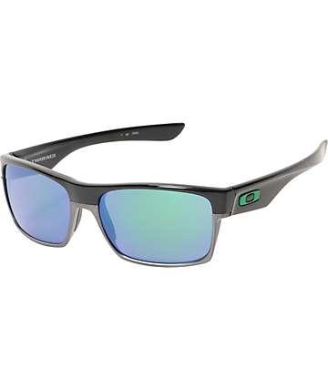 Oakley TwoFace gafas de sol en negro y jade iridio