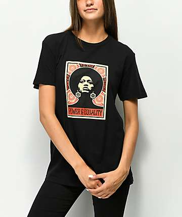 Obey Afrocentric Classic Black T-Shirt
