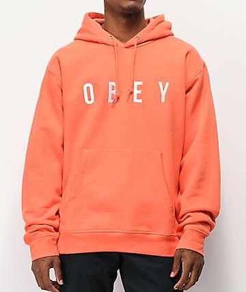 Obey Anyway Ember Hoodie