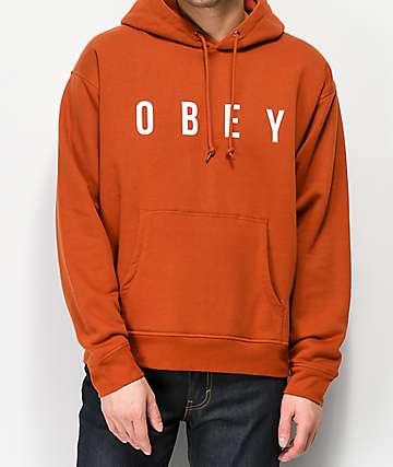 Obey Anyway Picante sudadera con capucha