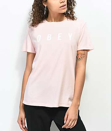 Obey Anyway Rose T-Shirt