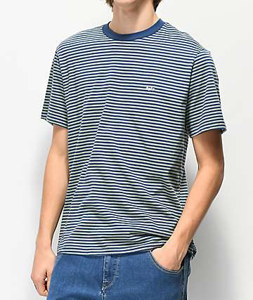 Obey Apex Striped Sage Knit T-Shirt