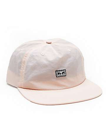 Obey Ashbury Fawn Five Panel Hat
