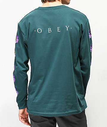 Obey Awakening Pine Long Sleeve T-Shirt