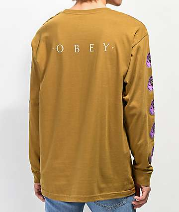 Obey Awakening Tapenade Long Sleeve T-Shirt