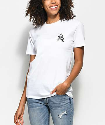 Obey Bad Luck White T-Shirt