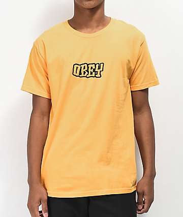 Obey Better Days 2 Gold T-Shirt