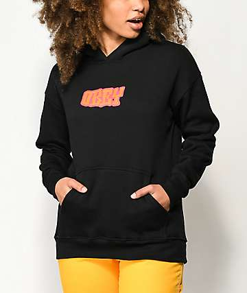 Obey Better Days Delancy Black Hoodie