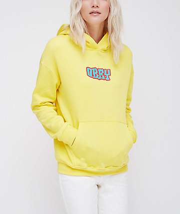Obey Better Days Lemon Hoodie