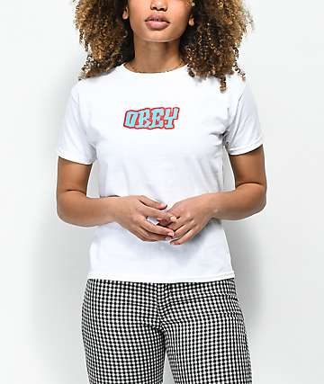 Obey Better Days camiseta blanca