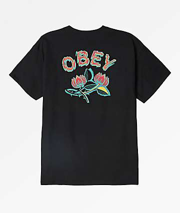 Obey Briar Black T-Shirt