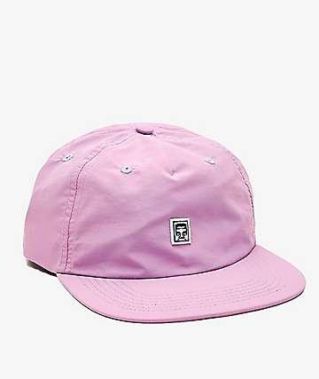 Obey Burke Lavender Strapback Hat