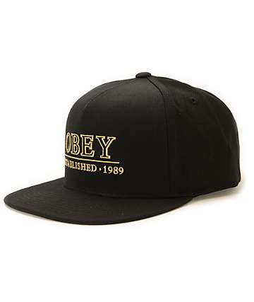 Obey Cambridge Strapback Hat dd3045f66f3