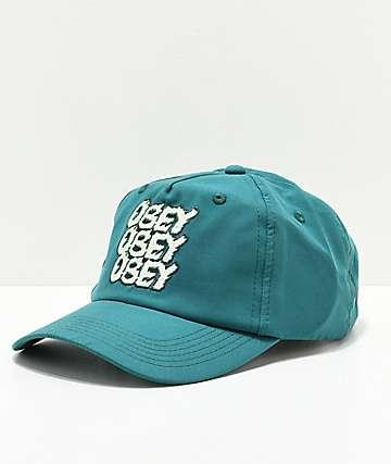 Obey Cara Spruce Strapback Hat