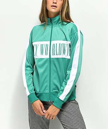 Obey Cashed Out Mallard chaqueta de chándal verde
