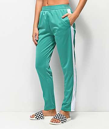 Obey Cashed Out Mallard pantalones de chándal verde