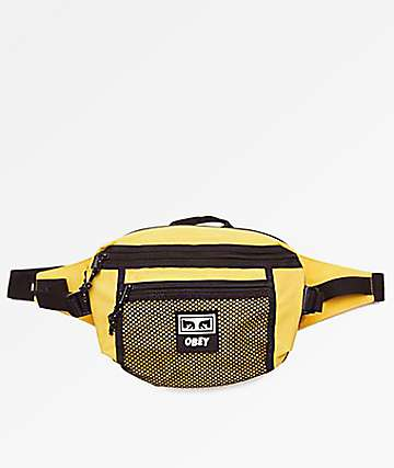 Obey Conditions Yellow Fanny Pack