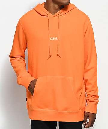 Obey Corsaire Orange Pullover Hoodie