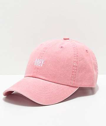 Obey Cress Pale Coral Dad Hat