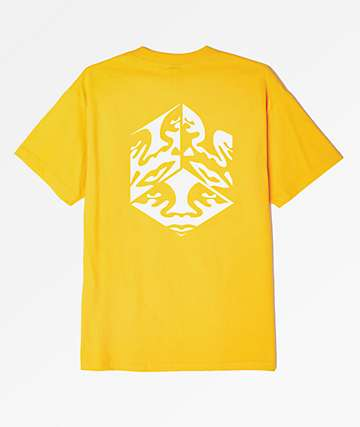 Obey Cube Gold T-Shirt