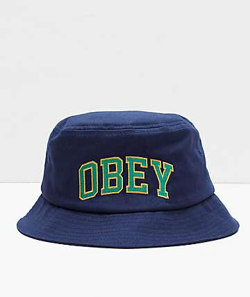 Obey DTP Navy Bucket Hat