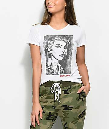 Obey Debbie Harry Fine Art White T-Shirt