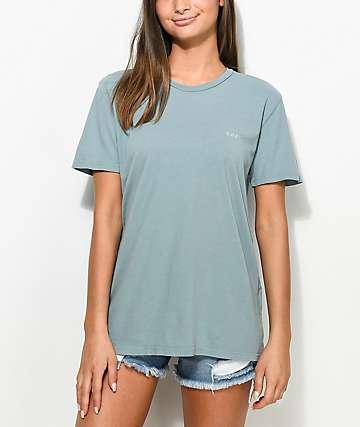 Obey Defiant Rose Drifter Olive T-Shirt