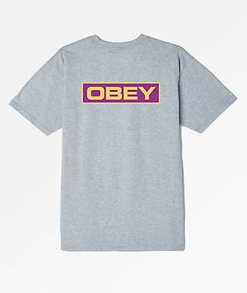 Obey Depot 2 Grey T-Shirt