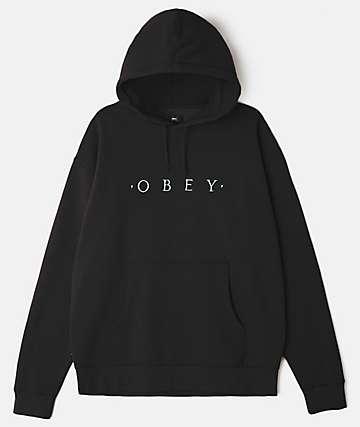 Obey Distant Black Hoodie