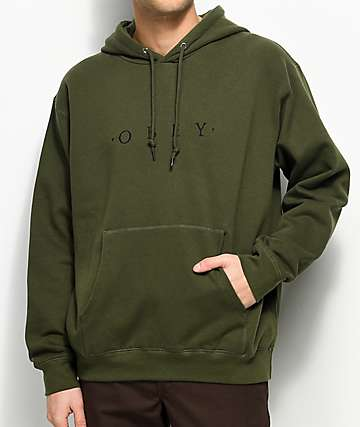 Obey Distant Olive Hoodie