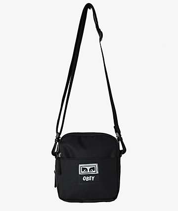 Obey Drop Out Black Utility Bag