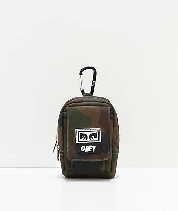 Obey Drop Out Camo Utility Bag