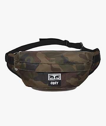 Obey Drop Out Field Camo Sling Pack