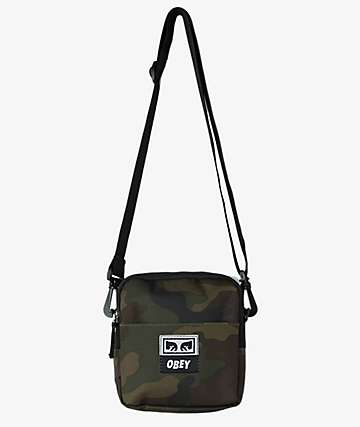 Obey Drop Out Field Camo Utility Bag