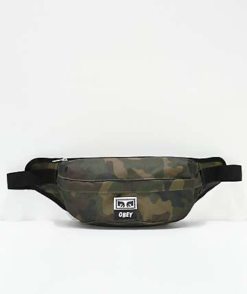 Obey Dropout Juvee Field Camo Sling Bag Fanny Pack