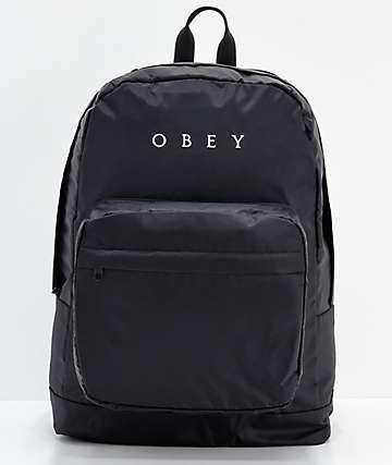 Obey Dropout mochila negra