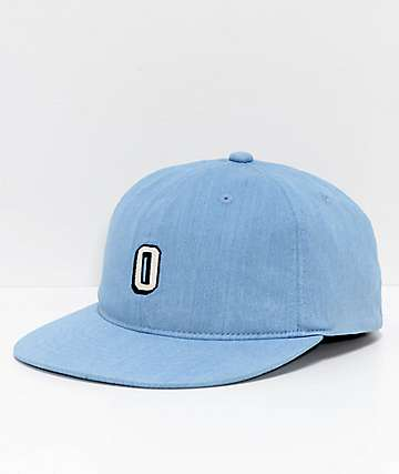 Obey Elden Light Denim FlexFit Hat