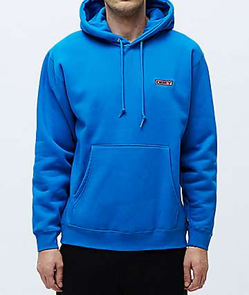 Obey Enigma Blue Hoodie