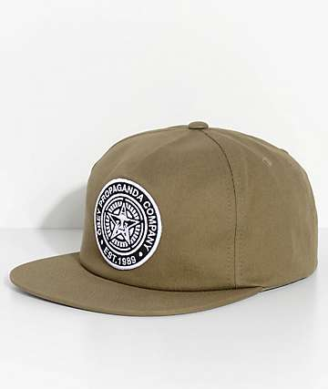 Obey Established 89 II Olive Snapback Hat