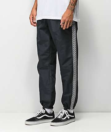 Obey Eyes Black Track Pants
